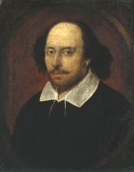 The Chandos portait of Shakespeare